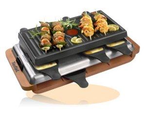 Tefal RE6000. Afgebeeld vlees en groenten zijn louter ter illustratie en worden niet geleverd bij het toestel.
